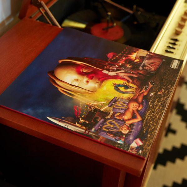 Travis Scott Astroworld Vinyl alternate cover