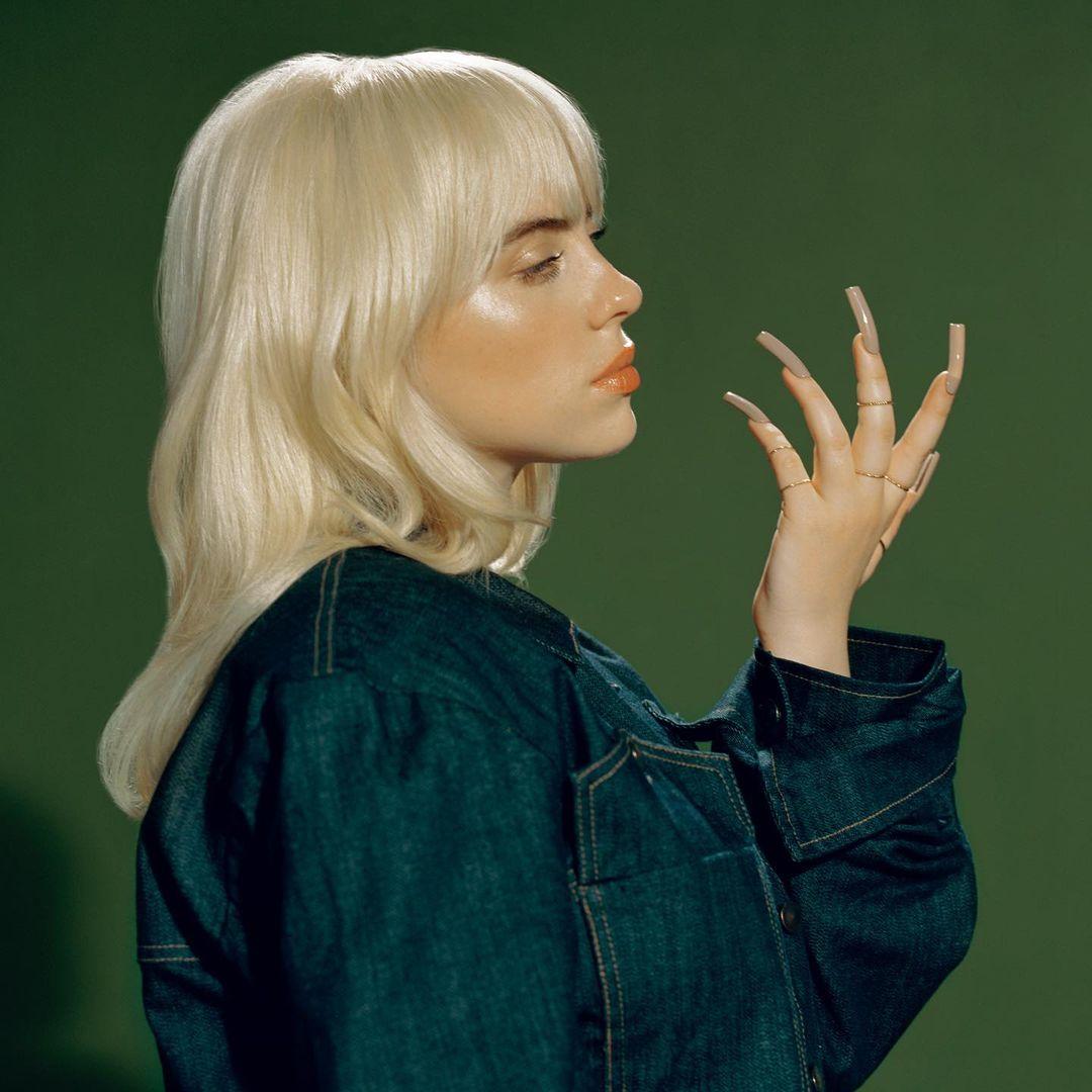 Billie Eilish Green NDA Promotional Image