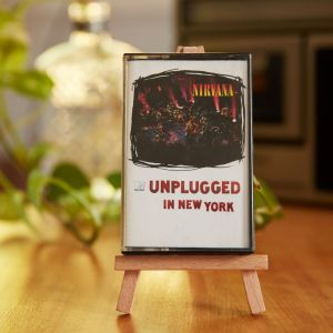 A Nirvana: Unplugged in New York cassette The Glitter and Gold