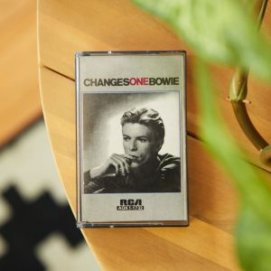 David Bowie 'Changes One Bowie' cassette The Glitter and Gold