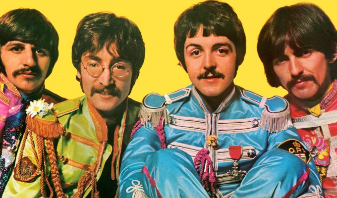 The Beatles Sgt. Pepper's Lonely Hearts Club Band The Glitter and Gold