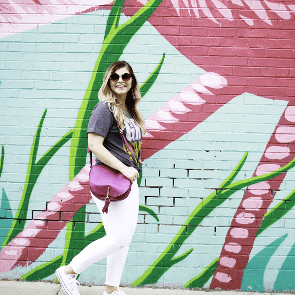 Girl Power- Why Having Friends in the Blogging Community is a Must by TN blogger The Glitter Gospel. Chicago Flamingo Wall, My Kind of Lovely, Cute Graphic Tees, Chicago, Vera Bradley Saddle Bag, Packed Party Disco Ball Tumbler
