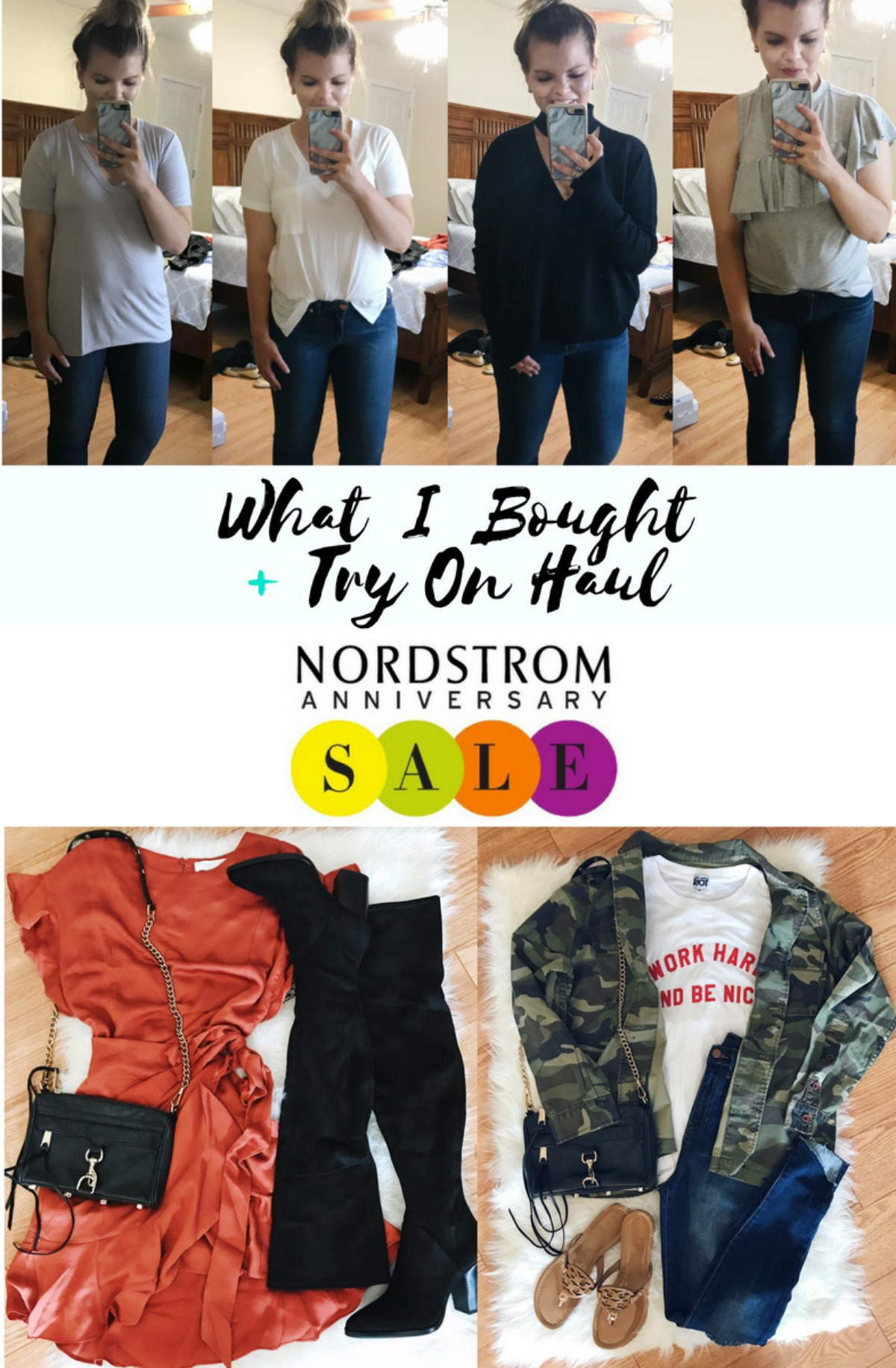 What I Purchased + Try On Haul from the Nordstrom Anniversary Sale