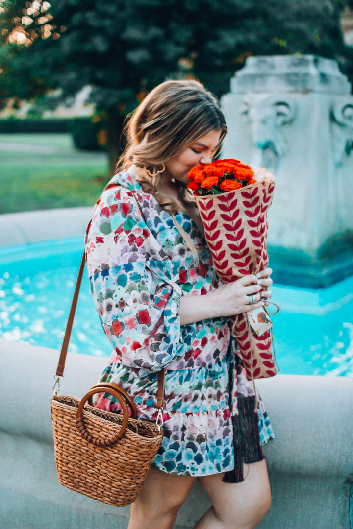 How to give back with your Mother's Day Gift purchase. Global Purpose floral bags available at the Fresh Market. The Glitter Gospel, IJM, Gifts that give back, Tennessee Blogger, Top Tennessee Fashion Blogger