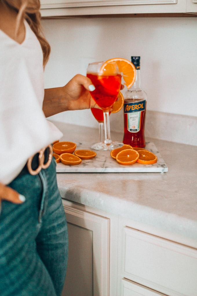 Aperol Spritz, Summer cocktails, The Glitter Gospel, Tennessee Blogger