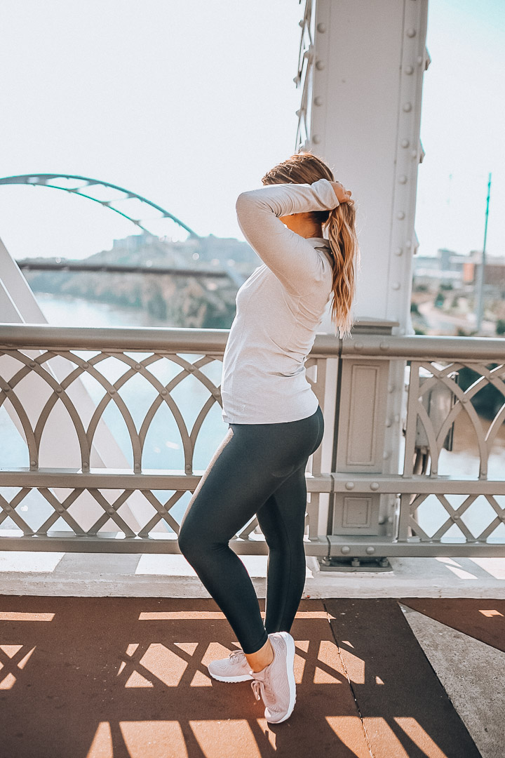 Ebay shopping, New Balance Sneakers, Athleisure Outfit, The Glitter Gospel, Fill Your Cart With Color, Nashville Pedestrian Bridge