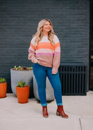 Must Have Target Sweaters (all 30% off) with Lacey Anne Douthat of The Glitter Gospel, A New Day by Target, Universal Thread