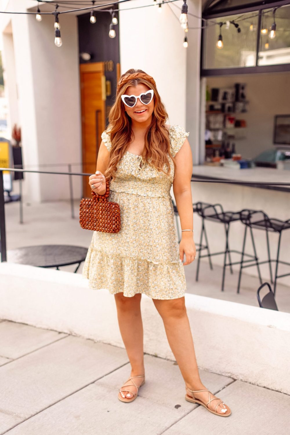 Easy Summer Style Ideas from Target under $40, summer outfits, floral dress, wild fable at target, affordable style,