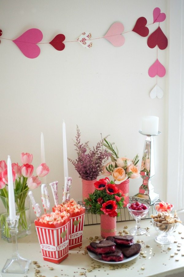 Valentines Day Girls Night In Glitter Guide