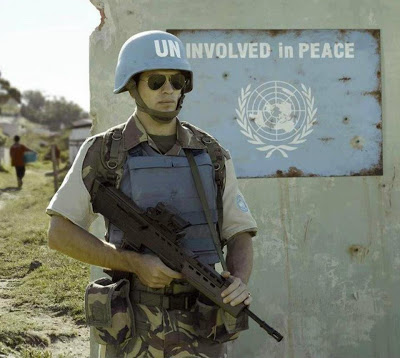 un uninvolved in peace