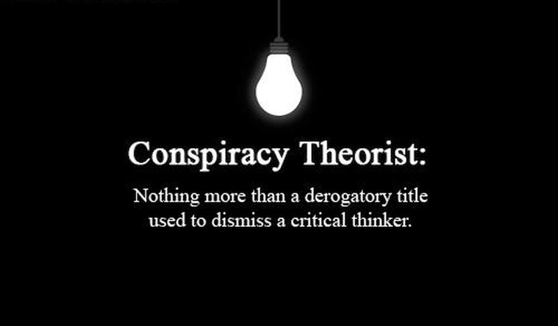 Conspiracy theories. more and more radical