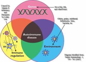 Gluten and the Autoimmune Disease Spectrum