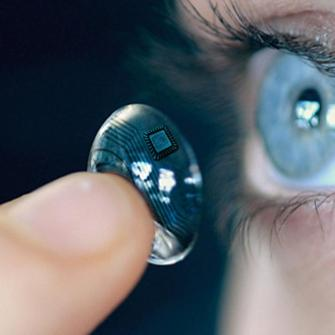 Terminator Eyes: Hi-tech contact lenses show texts and maps