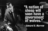 Edward R Murrow Quote