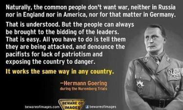 Hermann Goering Quote