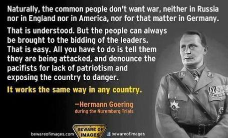Hermann Goering Quote