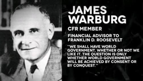 James Warburg Quote