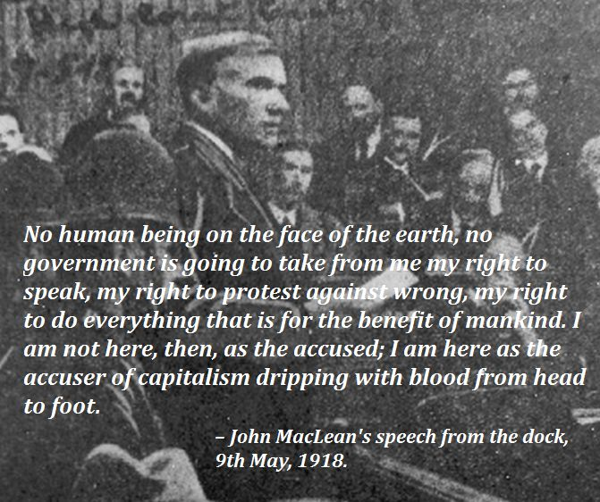 Maclean_trial_1918- quote