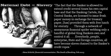 National-Debt-Equals-Slavery-quote- Hans Schicht