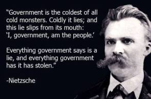 Nietzsche Quote Government