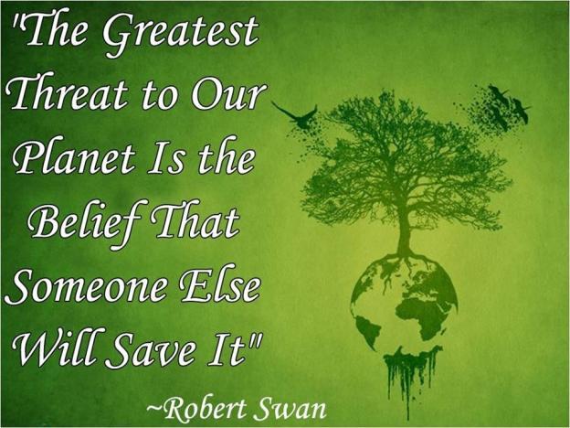Robert Swan Quote