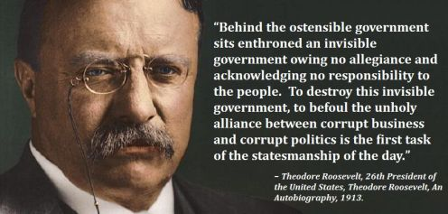 Theodore Roosevelt, An Autobiography, 1913 quote