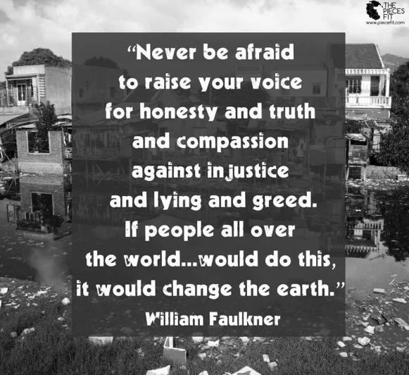 William Faulkner Quote