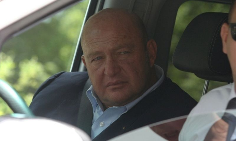 Mustafa Koç arrives at Bilderberg 2015 Photograph Charlie Skelton Guardian