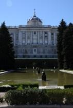Royal Palace - view from Sabatini Gardens