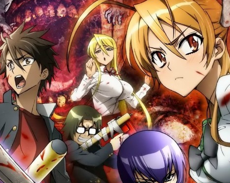 highschool of dead anime