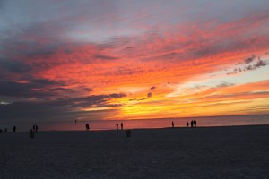 Clearwater Beach sunset