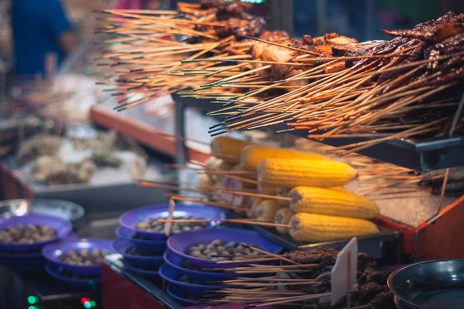 Jalan Alor Hawker Street Food Kuala Lumpur Budget