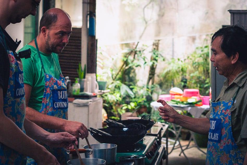 Bumbu Cooking Class Kuching Borneo Local