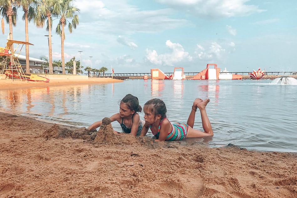 Waterfront Darwin Swim Kids Northern Territory Australia