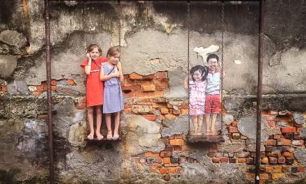 Discover amazing street art in Malaysia