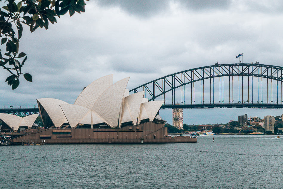 Sydney Harbour Bridge Opera House View Skyline