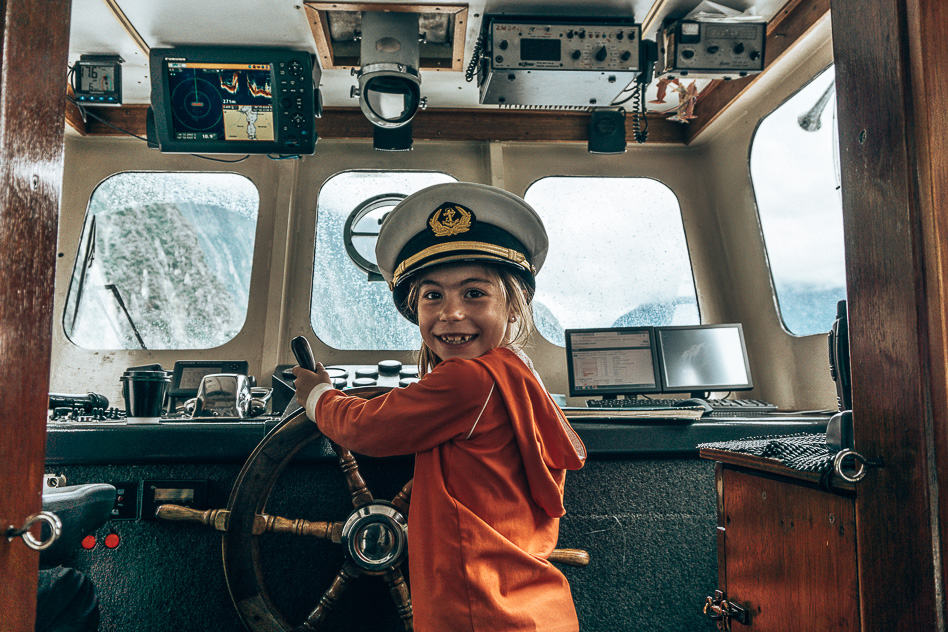 Cruise Milford Sounds Kids Fun Family New Zealand