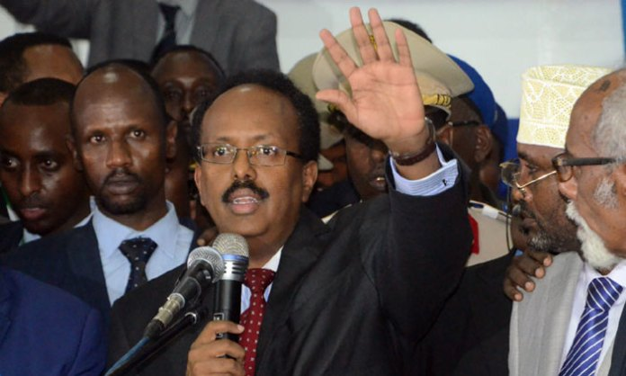 President of Somalia and former prime minister Mohamed Abdullahi Farmajo