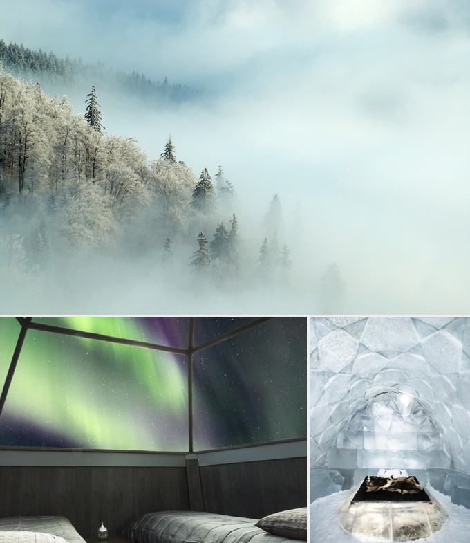 Laponie finlande escapade aurores boréales
