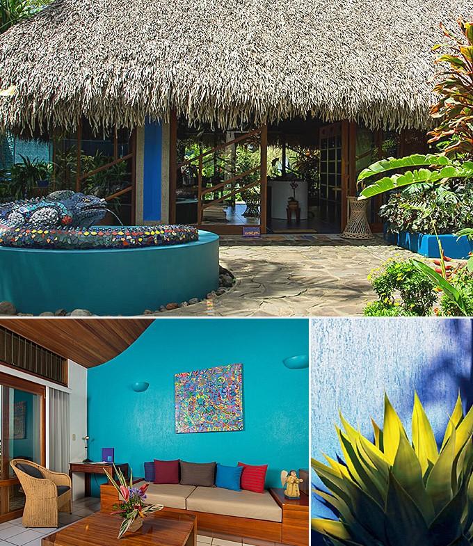 deux hôtels au Costa Rica