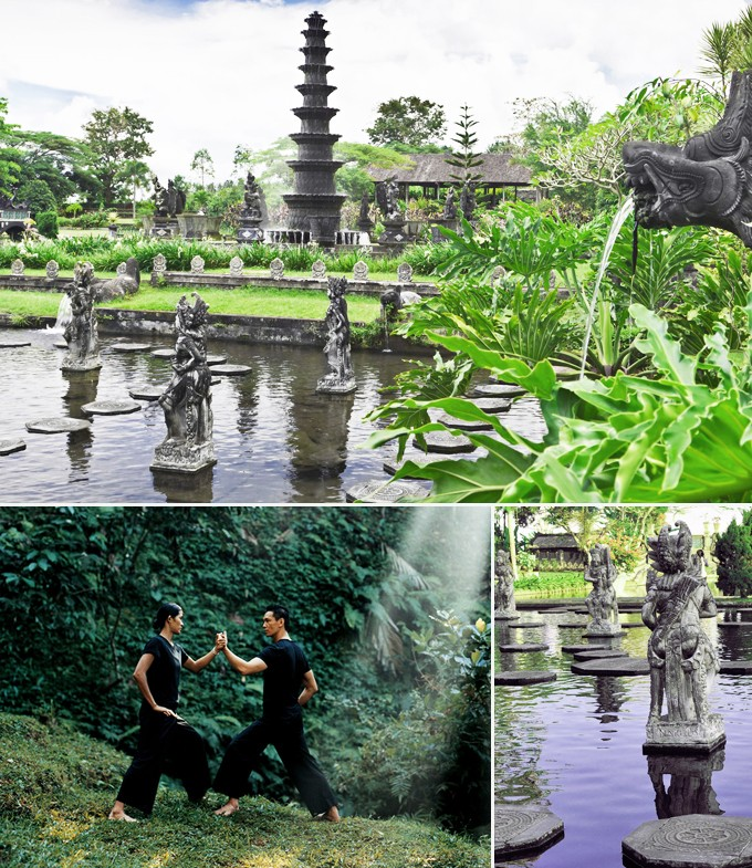 Tirta Gangga Bali indonésie