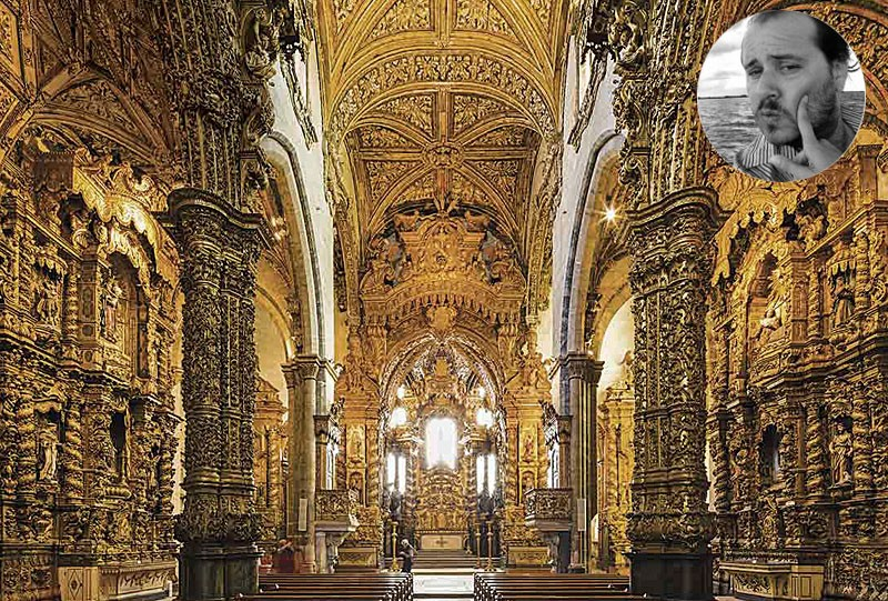 eglise sao francisco de porto portugal haut