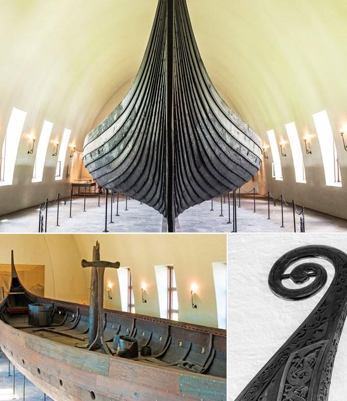 A faire musee des navires vikings oslo norvege
