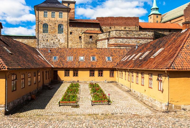 A voir Citadelle Akersush Oslo Norvege