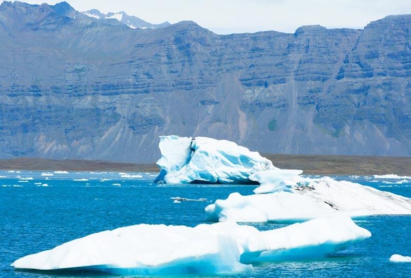 A voir Lac jokulsarlon Islande