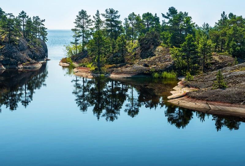 Lac ladoga Saint Petersbourg a decouvrir