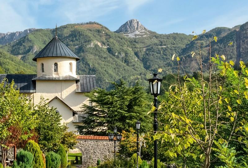 Montenegro monastere de moraca a voir