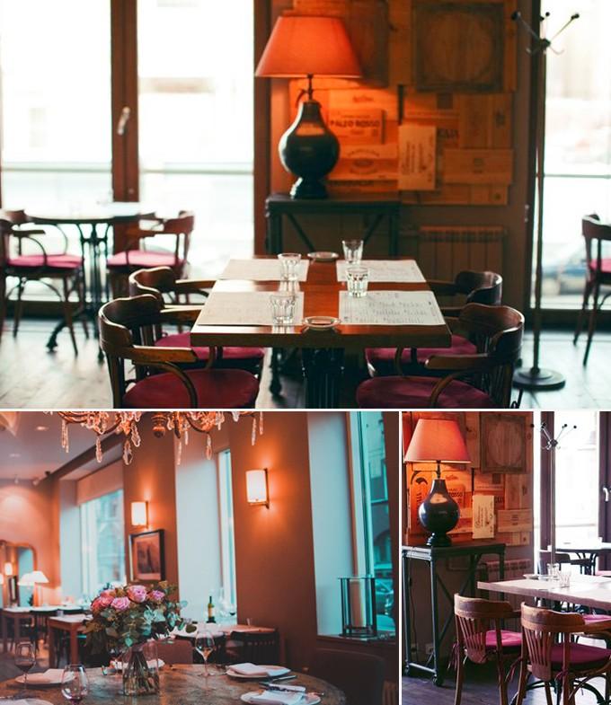 Probka restaurants St Petersbourg
