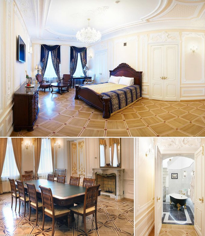 Rossi boutique Hotel St Petersbourg Russie