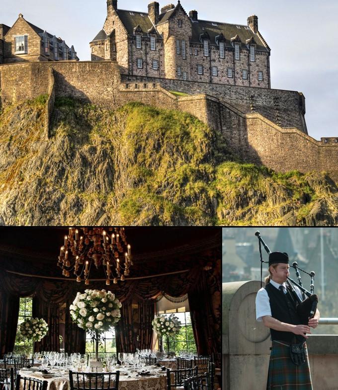 Ecosse Edimbourg Athenes du Nord chateau a voir